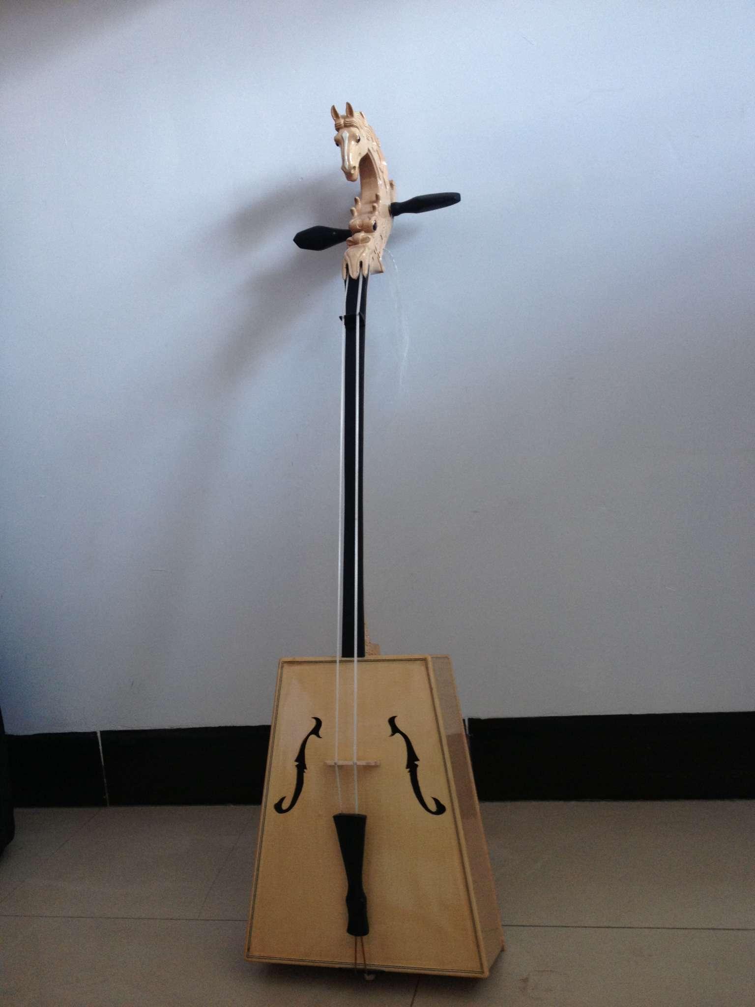 高档龙头马头琴2 - 呼和浩特市天马民族乐器厂图片